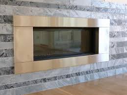 fireplace metal frame inspirational stainless steel fireplace surrounds round designs