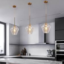bar modern pendant light glass ceiling lights kitchen island chandelier lighting