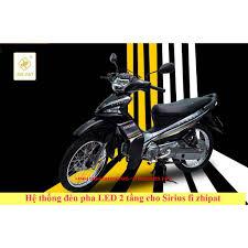 Đèn Pha Led Zhipat Cho Sirius Fi 2017 - 2018 Chính Hãng - Đèn xe máy Thương  hiệu ZHIPAT