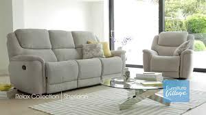 fabric recliner sofa. Sheridan Furniture | Leather \u0026 Fabric Recliner Sofas Village - YouTube Sofa