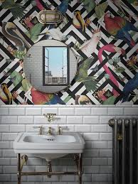 Can you wallpaper a bathroom and if so ...