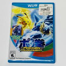 Pokemon Pocket Monsters Game Nintendo Wii U Pokken Tournament Japan Limited  for sale online