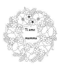 Festa Della Mamma Da Colorare Az Colorare