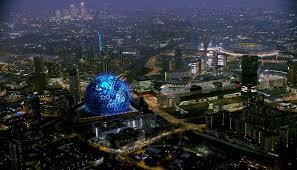 msg sphere london as it may look