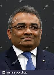 Ashwani Gupta, Nissan Motor's incoming chief operating officer, who is  currently Mitsubishi Motors Corp. COO, attends a news conference in Tokyo,  Japan October 9, 2019. REUTERS/Issei Kato Stock Photo - Alamy
