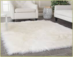 ikea sheepskin rug faux