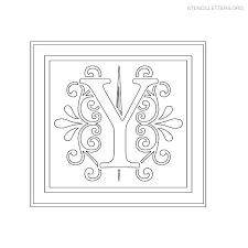 Letter Stencils To Print And Cut Out Stencil Letters To Print Out For Free Stencil Letters Org