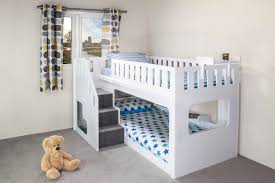 Shocking Bunk Bed With Stair Slide U New Home Design Carpet Image