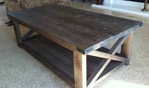 how to make a coffee table step by step rustic chic end tables simple rustic coffee table pottery barn coffee table plans