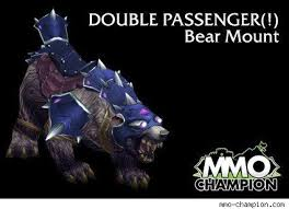 While the rigging on the bears differs between alliance and horde, you are only offered your faction's version by mei francis in dalaran for 750. New Mounts Discovered In Wrath Beta