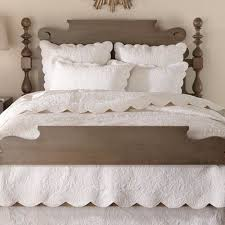 Bed Linen: glamorous white bed quilt White Quilt Set King, White ... & Bed Linen, White Bed Quilt Plain White Quilt Brown Elegant Cute Wooden:  glamorous white ... Adamdwight.com