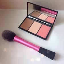 swatches face form contouring brush palette light sleek makeup blush by 3 ของแท ร ว ว photo 3