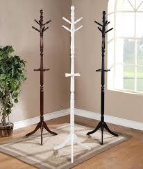 Floor Standing Coat Rack Coat Hanger Stand Coat Rack Umbrella Stand Wood processcodi 36