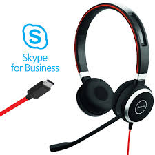 Гарнитура <b>Jabra EVOLVE 40</b> MS, Stereo, USB-C купить в ...