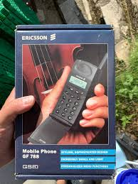 Ericsson GF 788 - råkul retro mobil ...