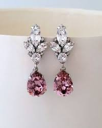 Click to Buy << <b>Yhpup Brand Luxury</b> Pink White Rhinestone Water ...