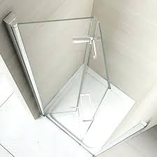 bifold glass shower doors the 8 series hinged door is available in sizes featuring toughened bi bifold glass shower doors