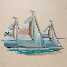 outdoor sailboat wall art