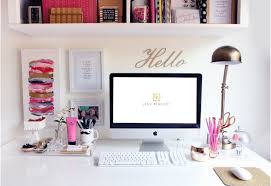 office cube decor. Girly Cubicle Idea With Computer Set And Industrial Modern Study Lamp Also White Bookshelf Wall Decor Office Cube T