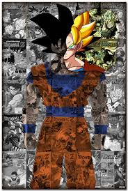 Dragon Ball Z Decorations Top Selling Dragon Ball Z Removable Wall Sticker 100×100 inches 31