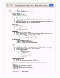 Free Online Resume Builder Very Best Free Resume Maker