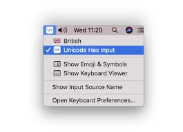 Macos What Do I Type To Produce The Command Symbol In Mac Os
