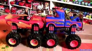 Cars Toon Giant Monster Truck Mater Wrestling Ring with YE Left Turn ...