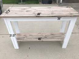 architecture good looking diy sofa table diy farmhouse 123 png resize 665 2c499 diy sofa table