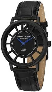 men in black 3 hamilton ventura watches this has a 40 s stuhrling original men s 388s 33551 classic winchester swiss quartz black watch set watches
