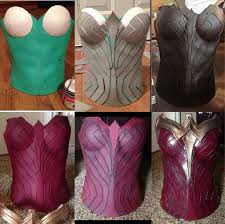 Wonder Woman Costume Pattern Enchanting Foam Corset Tutorial Cosplay Amino