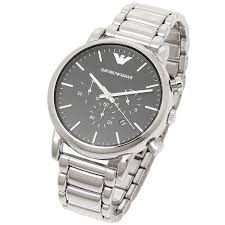 brand shop axes rakuten global market emporio armani watches emporio armani watches mens emporio armani ar1894 luigi luigi chronograph watches watch silver black
