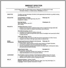 New Resume Format For Engineering Freshers Resume Resume