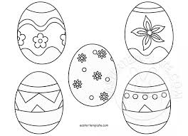 Easter Templates Easter Egg Template Printable Easter Template