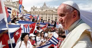 Francisco con el pueblo cubano