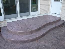 stamped concrete patio with stairs. Simple Patio Floor Beautiful Stamped Concrete Patio With Stairs 9  In N
