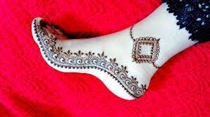 Foot Simple Mehndi Design 2018 Beautiful Feet Mehndi Design 2018 Leg Henna Simple And Easy For Eid Teej Naush Artistica