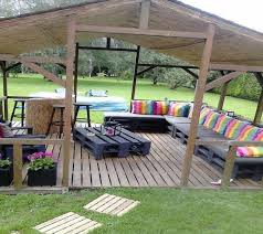outdoor furniture made with pallets. Garden Outdoor Furniture Made From Wood Pallets With