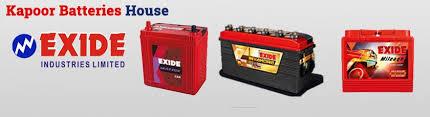 Exide Automotive Battery Application Chart Exide Automotive Battery Car Battery Genset Battery Exide