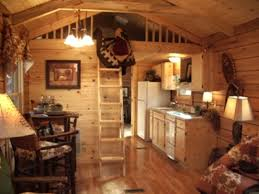 Small Cabin Interior Design Ideas Log Interiors Abbdeec