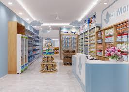 Thiết kế shop mẹ và bé Smiling Baby Store