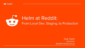 Helm At Reddit From Local Dev Staging To Production