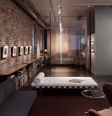 Industrial Design Living Room Interior Design Brick Wall Ideas Living Room Home Office E With