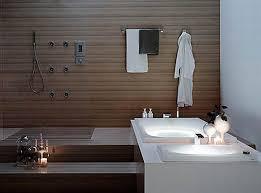 Japanese Bathrooms Design Chic Japanese Bathroom Design Ideas With Luminous Trough Bathtub