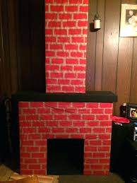 fake fireplace cardboard how to make a fake cardboard fireplace ideas diy faux fireplace out of