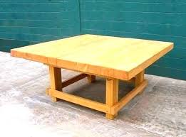 heavy wood coffee table duty metal book