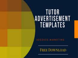 Tutor Flyer Templates 10 Best Websites To Get Tutor Advertisement Templates Free