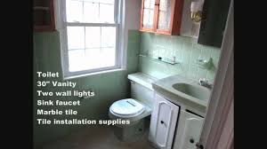 Economical Bathroom Remodel Budget Bathroom Renovation Youtube