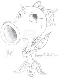 Plants Vs Zombies Coloring Pages At Getdrawingscom Free For