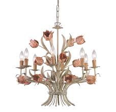 shabby chic lighting. Crystorama Lighting Southport Chandelier Shabby Chic