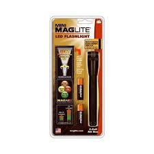 Mag Instrument Sp2201h Mini Mag Led Flashlight Holster Pack 77 Lumens 4 Mode Black Aluminum